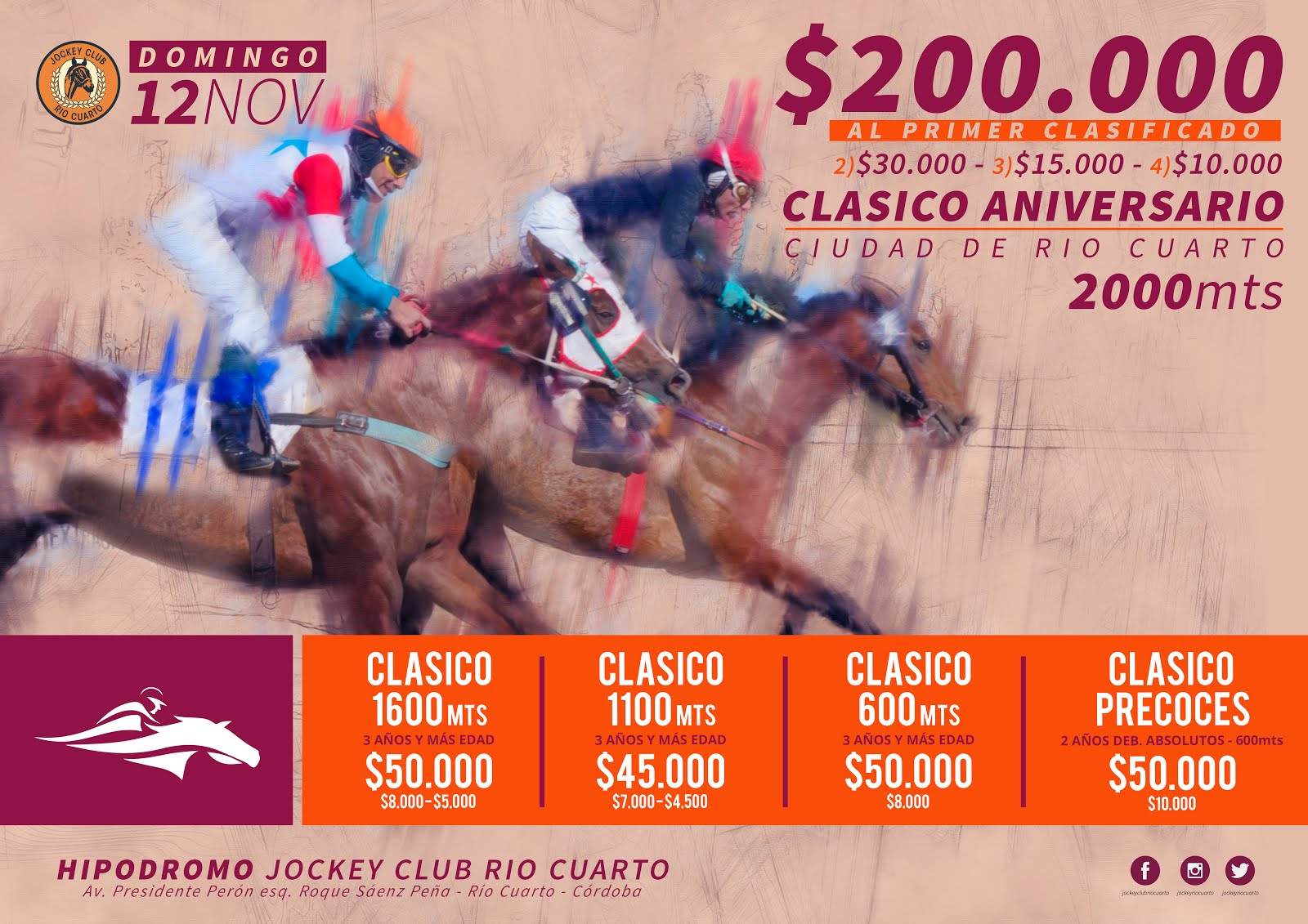 CLASICO ANIVERSARIO / 12NOV2017