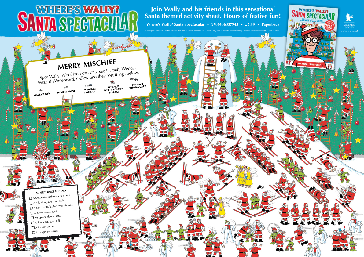 For Immediate Release Reviews - Kids: Where's Waldo? Santa Spectacular