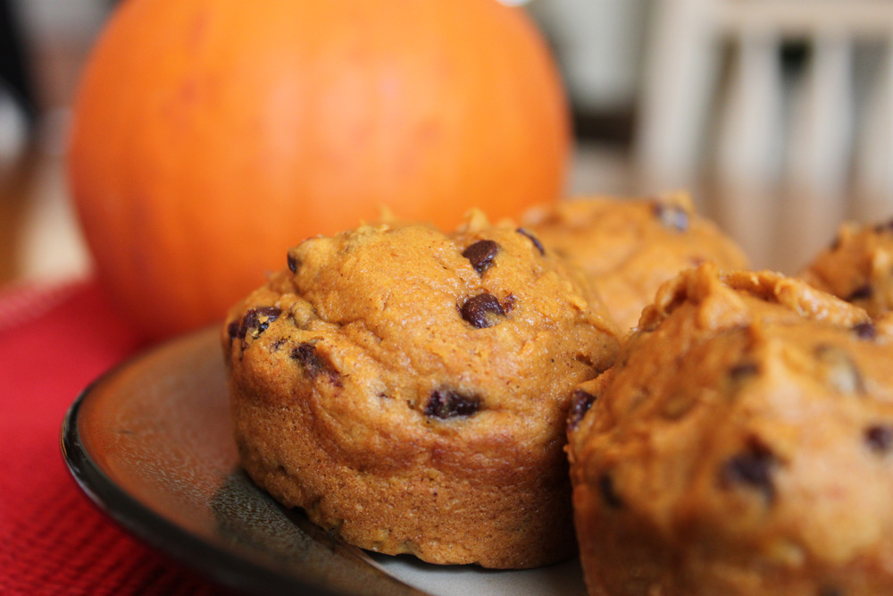 The Painted Cottage Studio: Yummy (and easy!) Pumpkin Muffins