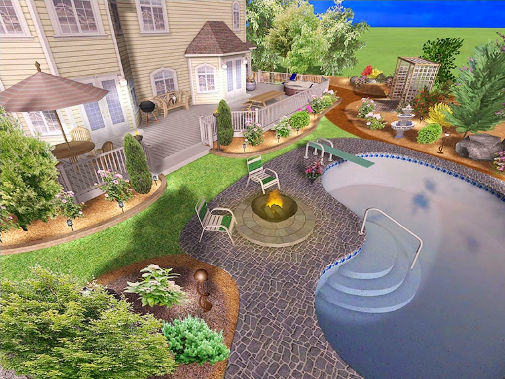 My landscape ideas boost august 2014 for 3d pool design software for mac