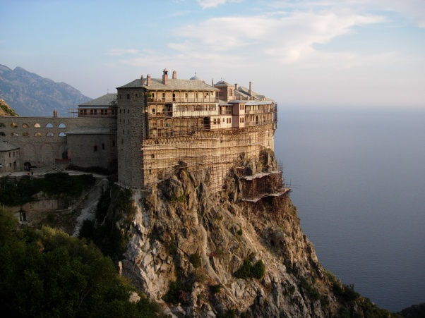 There is no place on earth closer to heaven than Mount Athos ...