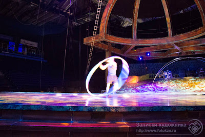 цирк дю Солей, на репетиции