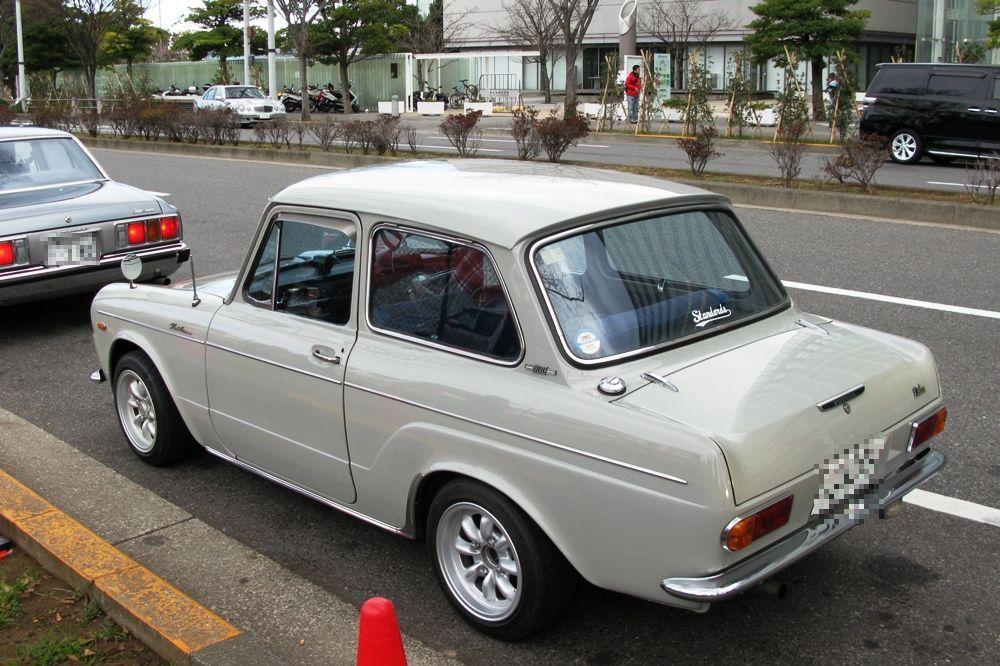 Toyota Publica P20 stary japoński miejski samochód mały