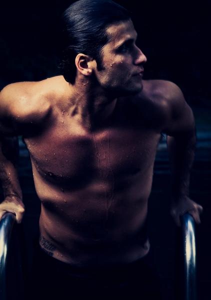 """O ator começou a ganhar peso em 2009. """"Me descuidei"""", disse Foto: Jorge Bispo"""