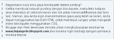 20 Blockquote Keren Untuk Blogspot