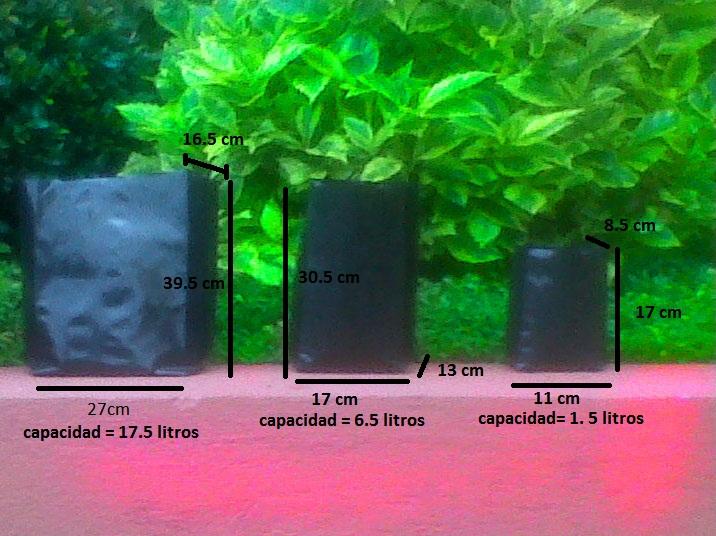 Plasticos alfa y omega bolsas de vivero for Que es un vivero de plantas