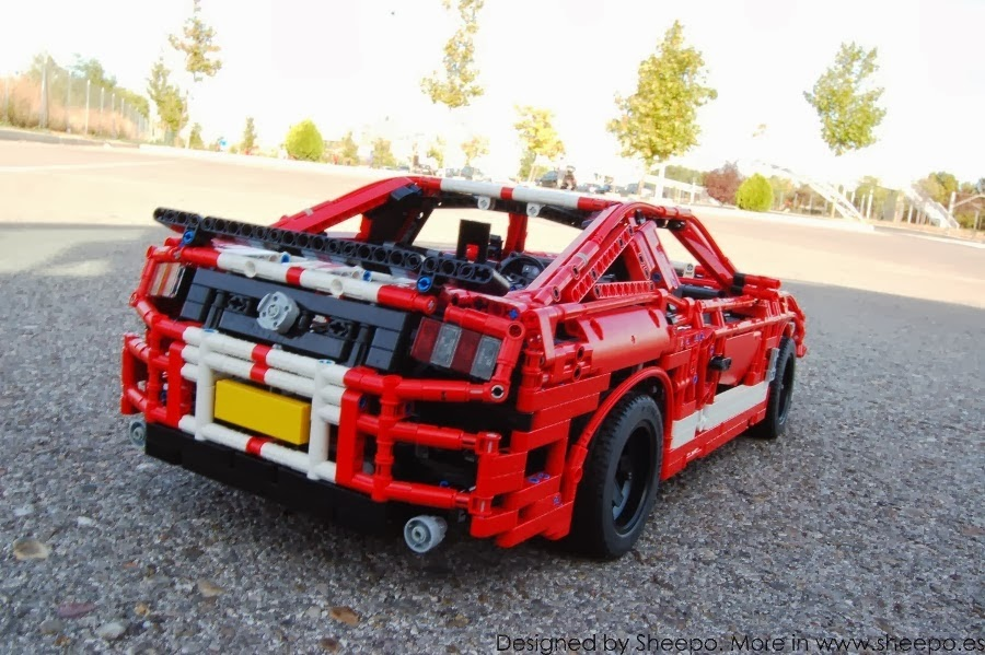 Shelby GT500 Lego