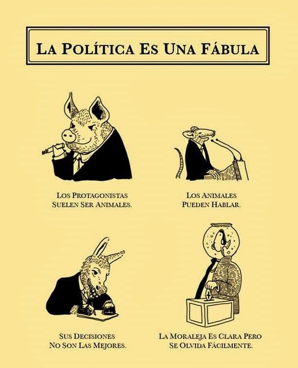 LA POLÍTICA ES UNA FÁBULA