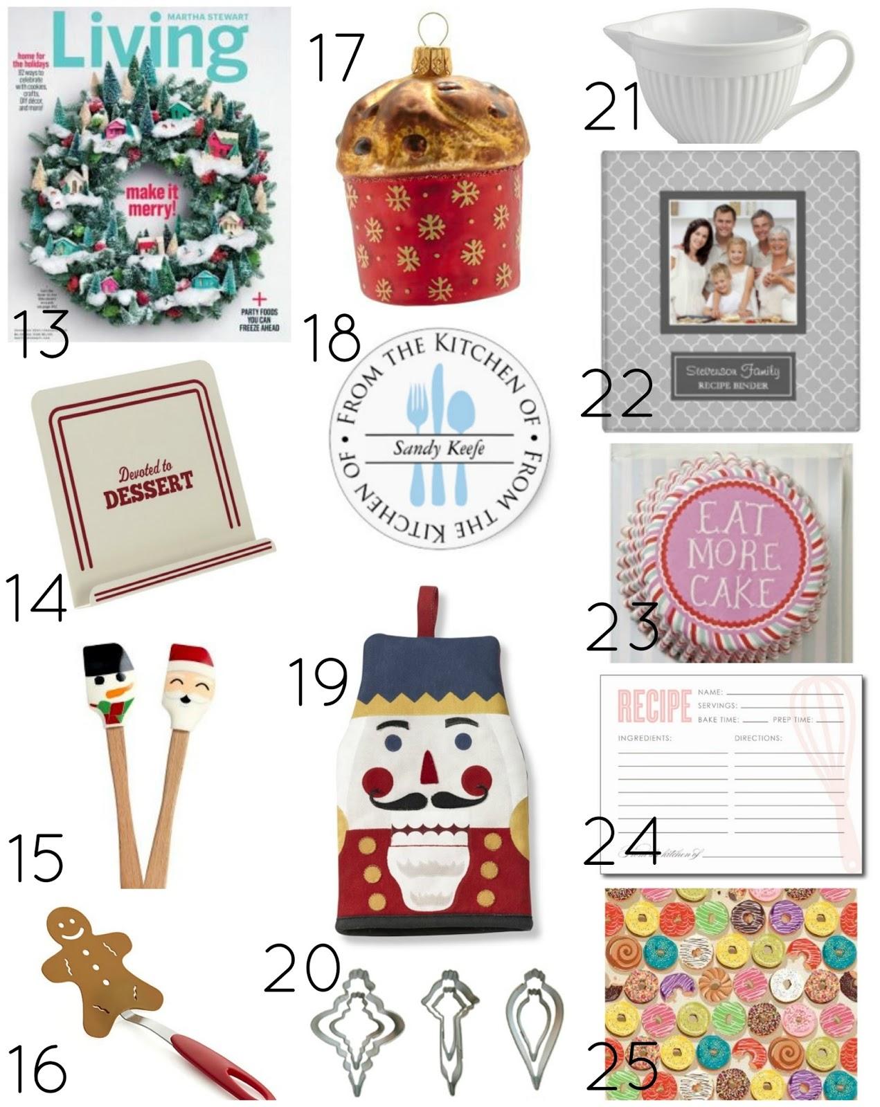 Christmas Gift Guide for Bakers | A Homemade Living