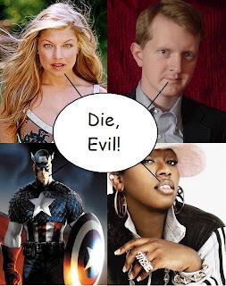 Four pseudo celebrities unite