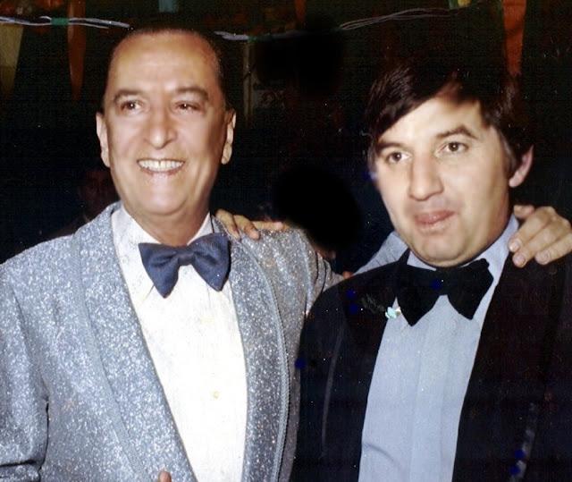 Hugo del Carril con un fan