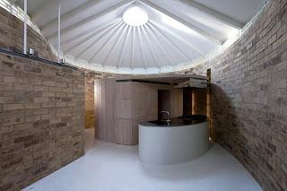 Casa de diseño ladrillo de arcilla
