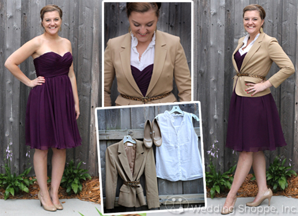 restyle sweetheart strapless bridesmaid dress