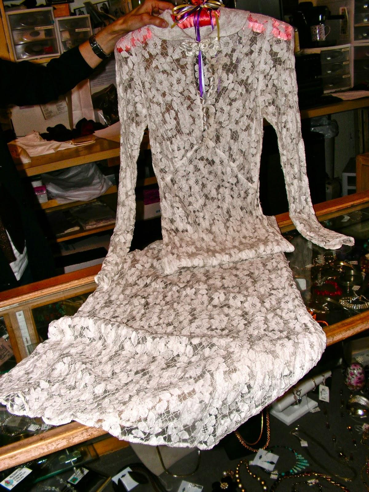 Mnstyle Shut Up Vintage Wedding Dress