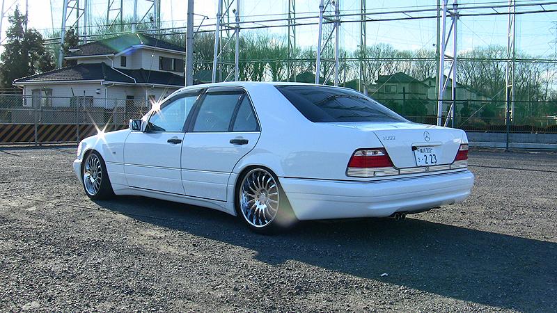 Mercedes benz s666 w140 white benztuning for Mercedes benz w140