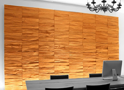 The Structure Of Natural Stone Fragments And Small Wood for Wall Decoration