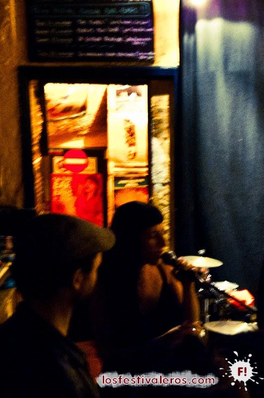 La gitana tropical en Le Txus, Festival Culture Bar-Bars 2014