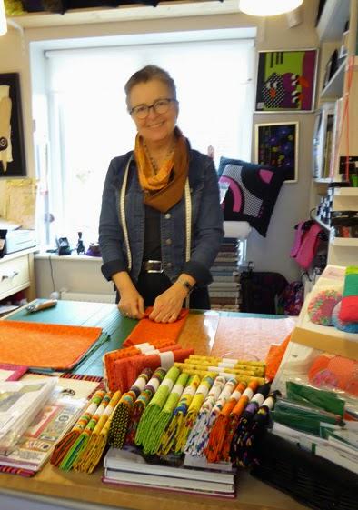 Farverig butik med lækre ting hos Gittea i Rødekro