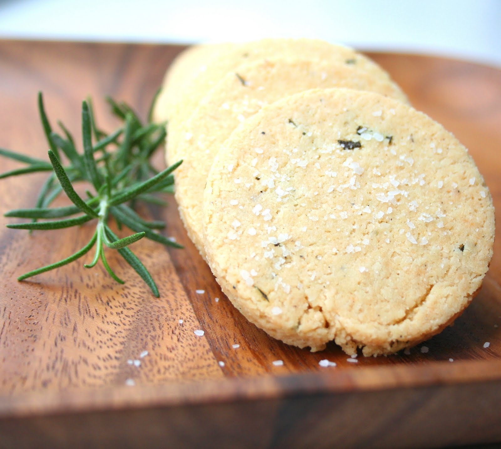 Rosemary Parmesan Shortbread (Low Carb and Gluten Free) | All Day I ...