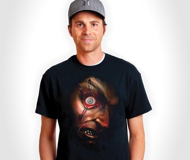 Frantically Moving Eyeball Shirt