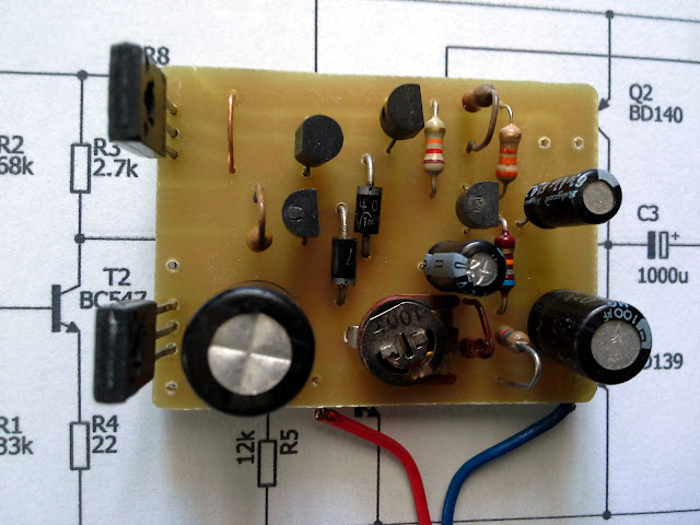 2.5W Audio Amplifier with Transistors