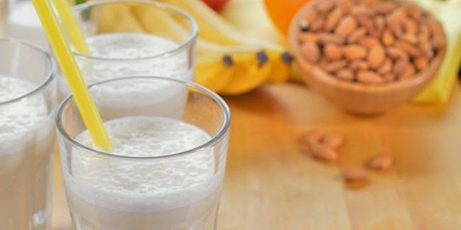 Resep Smoothies Oatmeal Strawbanana