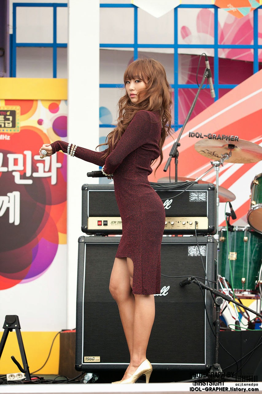 Sistar (씨스타) Hyorin (효린) - 'Beef day' to announce the superiority of Korea Dairy Cattle Association on 09 June 2012