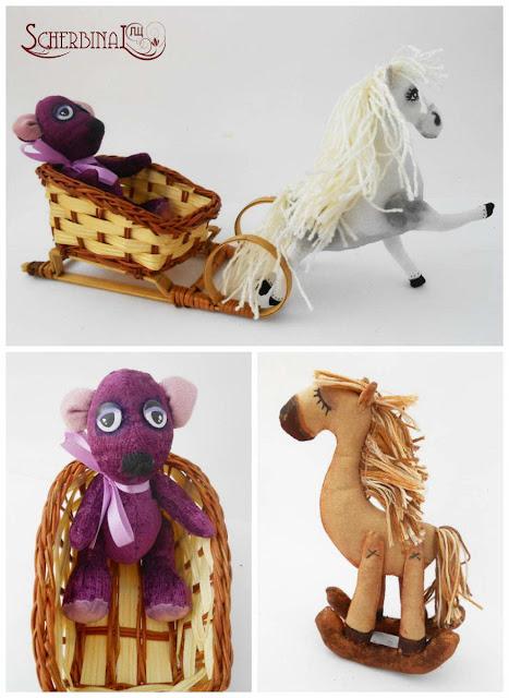 мягкие игрушки лошадки