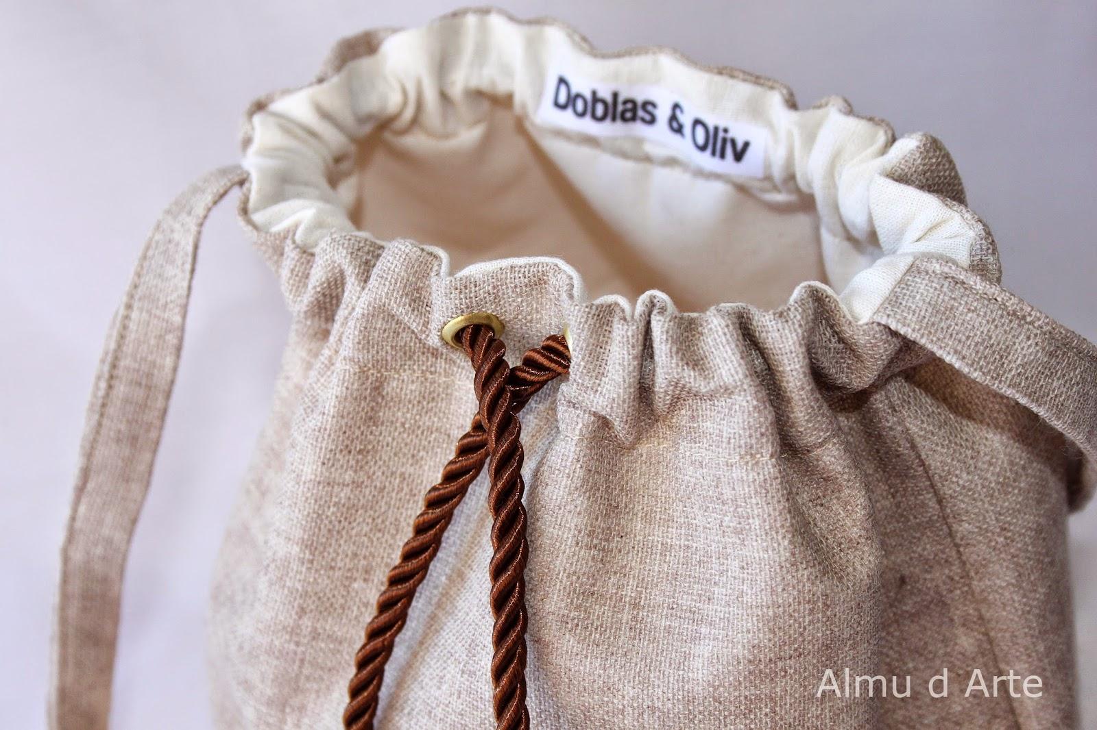 Bolsos de tela de saco - Tela de saco ...