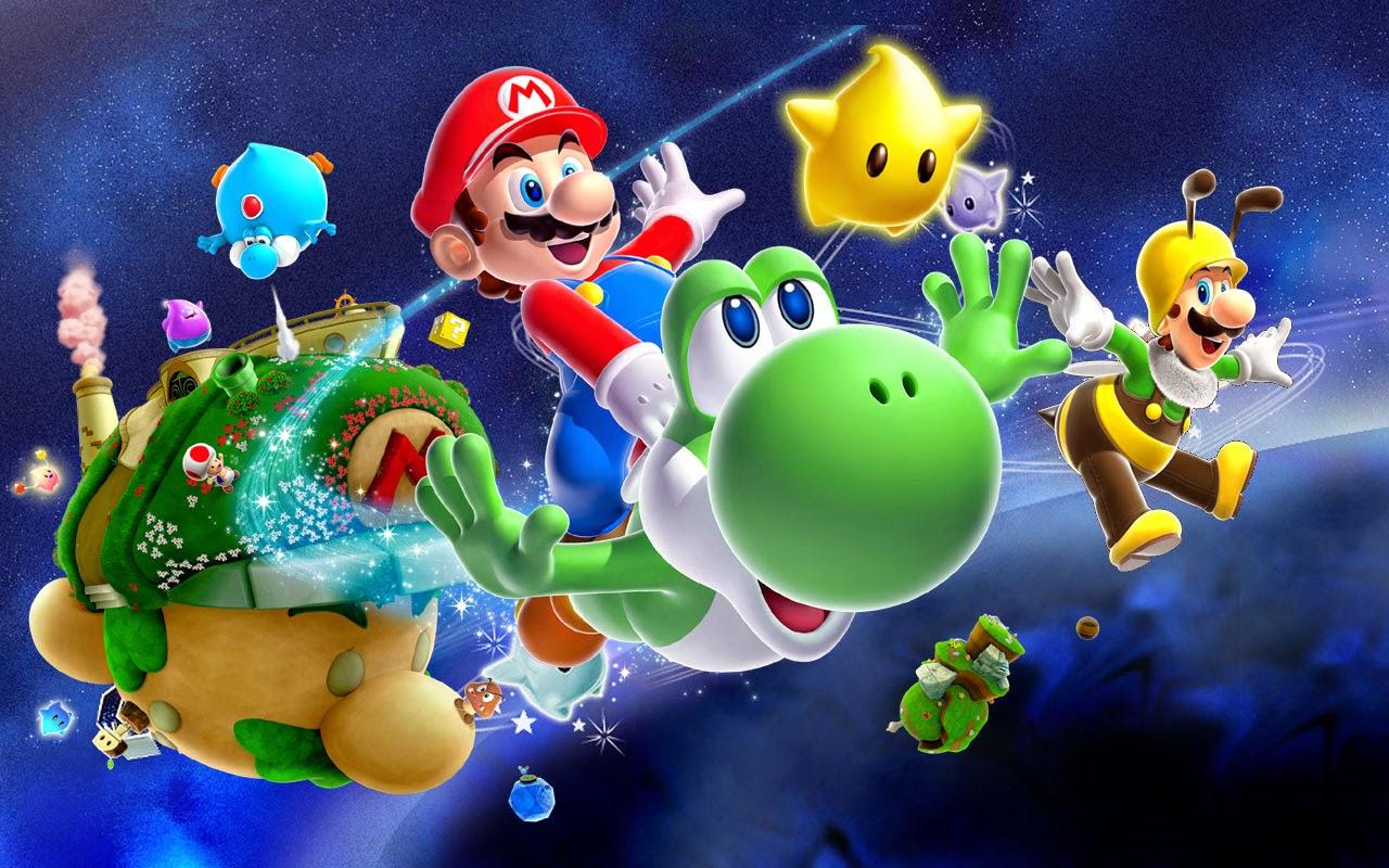 Ausmalbilder Mario Galaxy