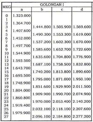 Rudy Hermawan News: Daftar Kenaikan Gaji PNS PP 22 Tahun 2013