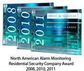 Frost and Sullivan awards for Monitronics