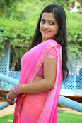Samskruthi photo shoot in saree-thumbnail-16