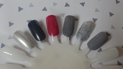 OPI Fifty Shades Of Grey Mini Nail Polish Set