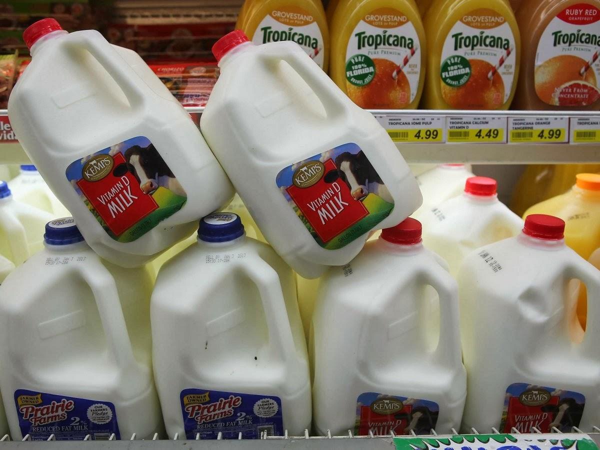 Самые нужные продукты находятся в конце супермаркета