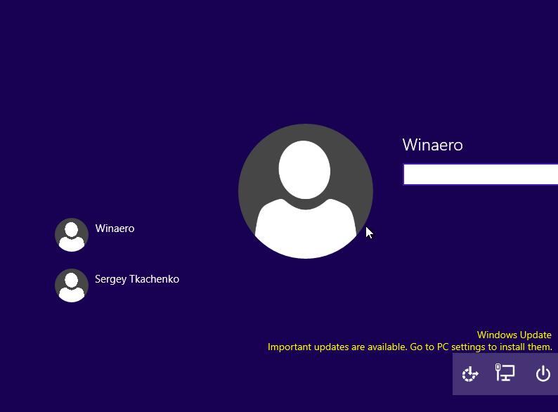Windows 10 login  iris recognition