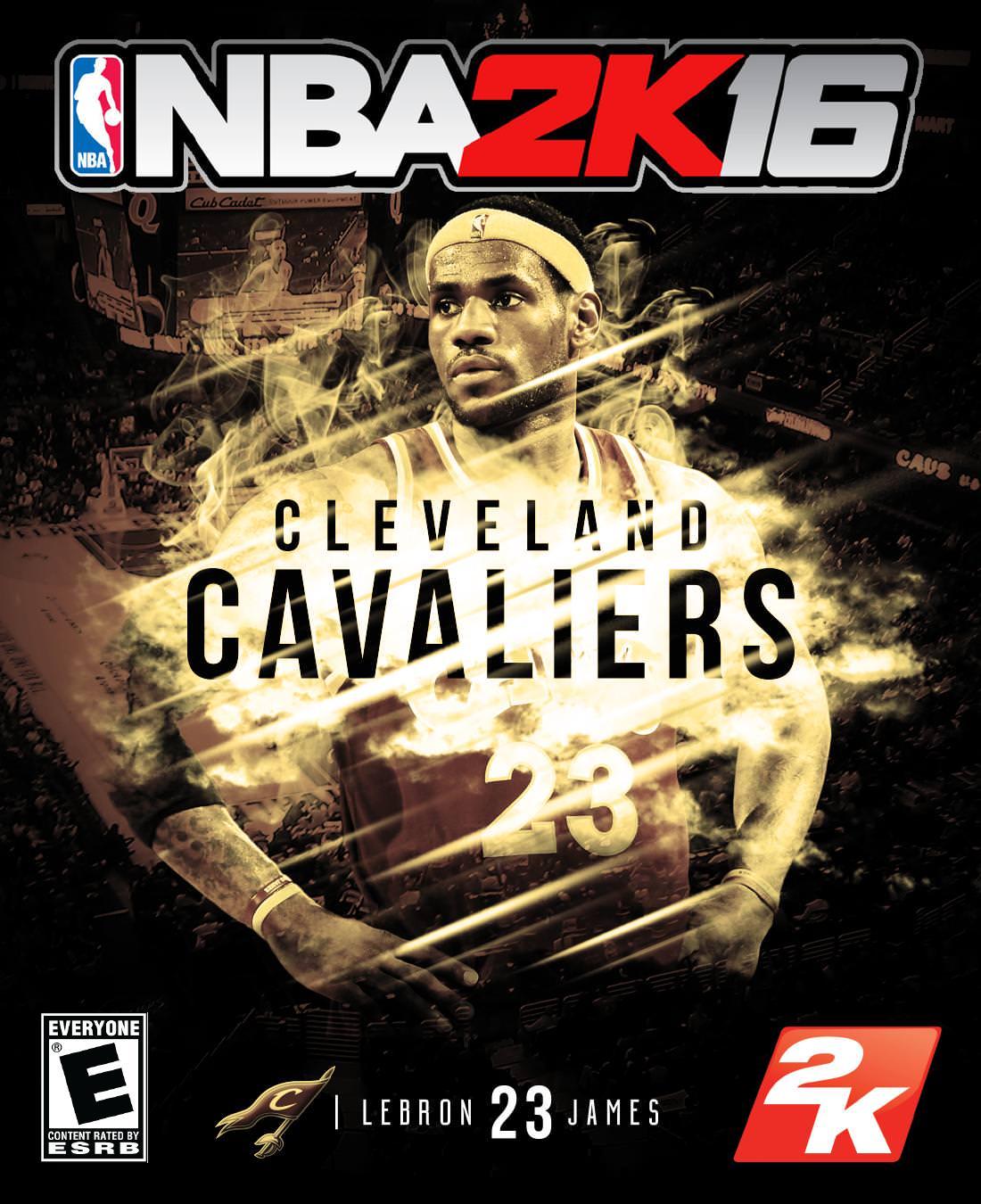 NBA 2K16 Custom Covers - Cleveland Cavaliers