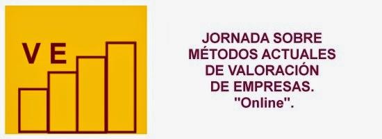 Jornada Online Métodos actuales de valoración de empresas