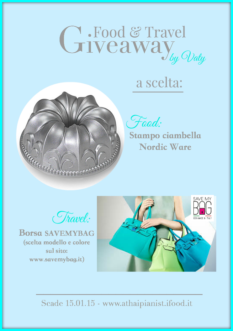Il giveaway di Vaty del blog A thai pianist