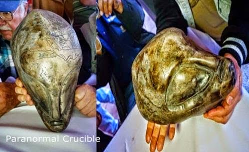 Mexican Government Disclose Alien Artifacts