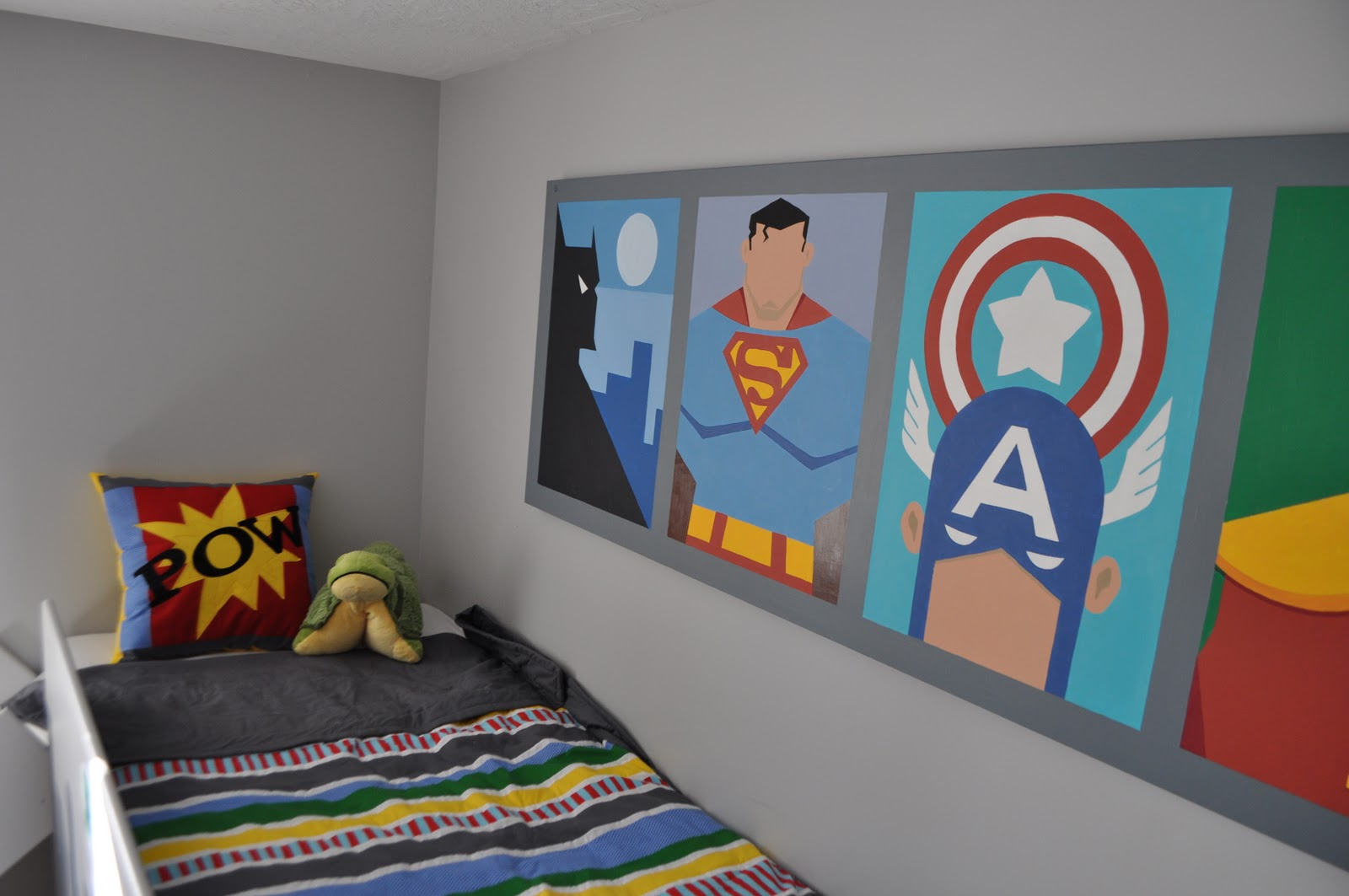 Boys Superhero Bedroom Ideas i am momma - hear me roar: superhero room - part 3