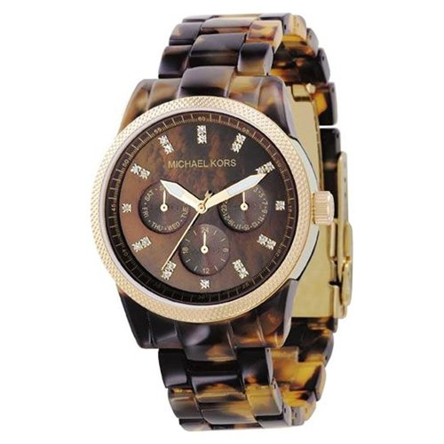 michael kors designer watches neqq  Women designer watches: Michael Kors Women's MK5038 Ritz Tortoise Watch