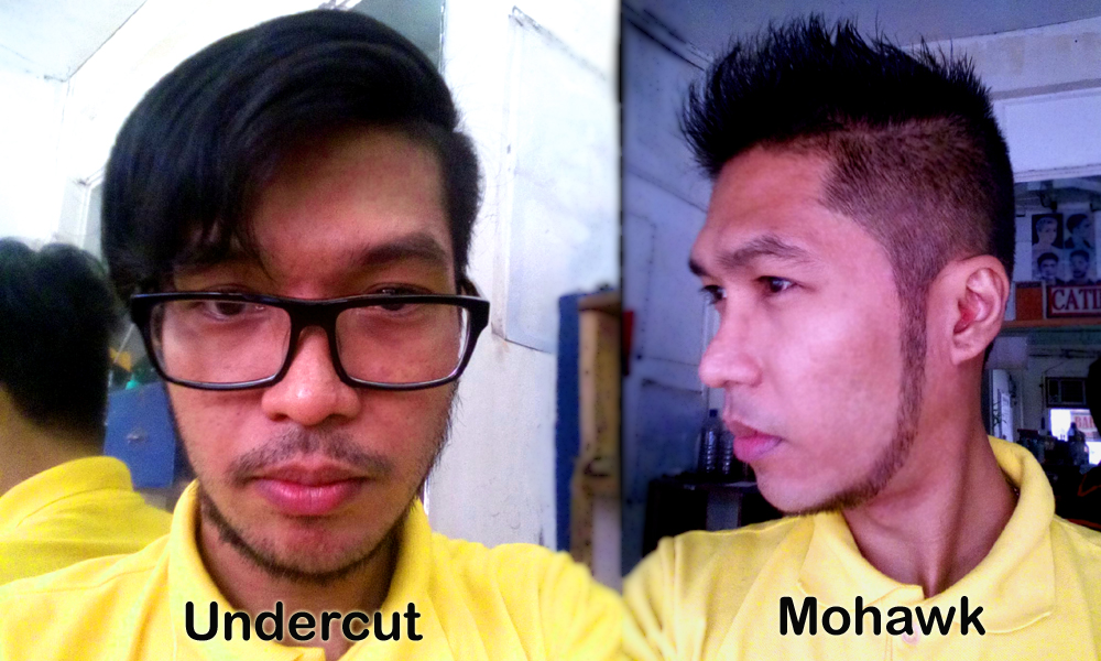 Mohawk Hairstyle and Undercut Hairstyle - I ♥ Tansyong ™