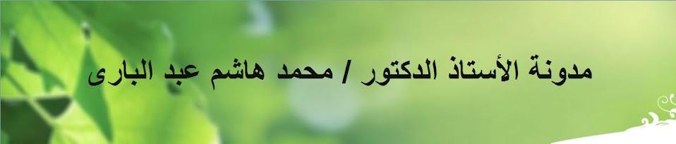 الأستاذ الدكتور محمد هاشم عبد البارى