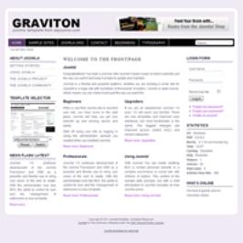 Graviton Joomla 1.6 Template
