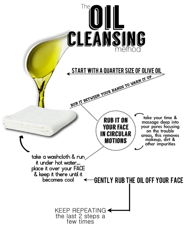 Oil Cleansing Method, Tanvii.com