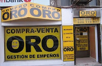 Comercio de compraventa de oro