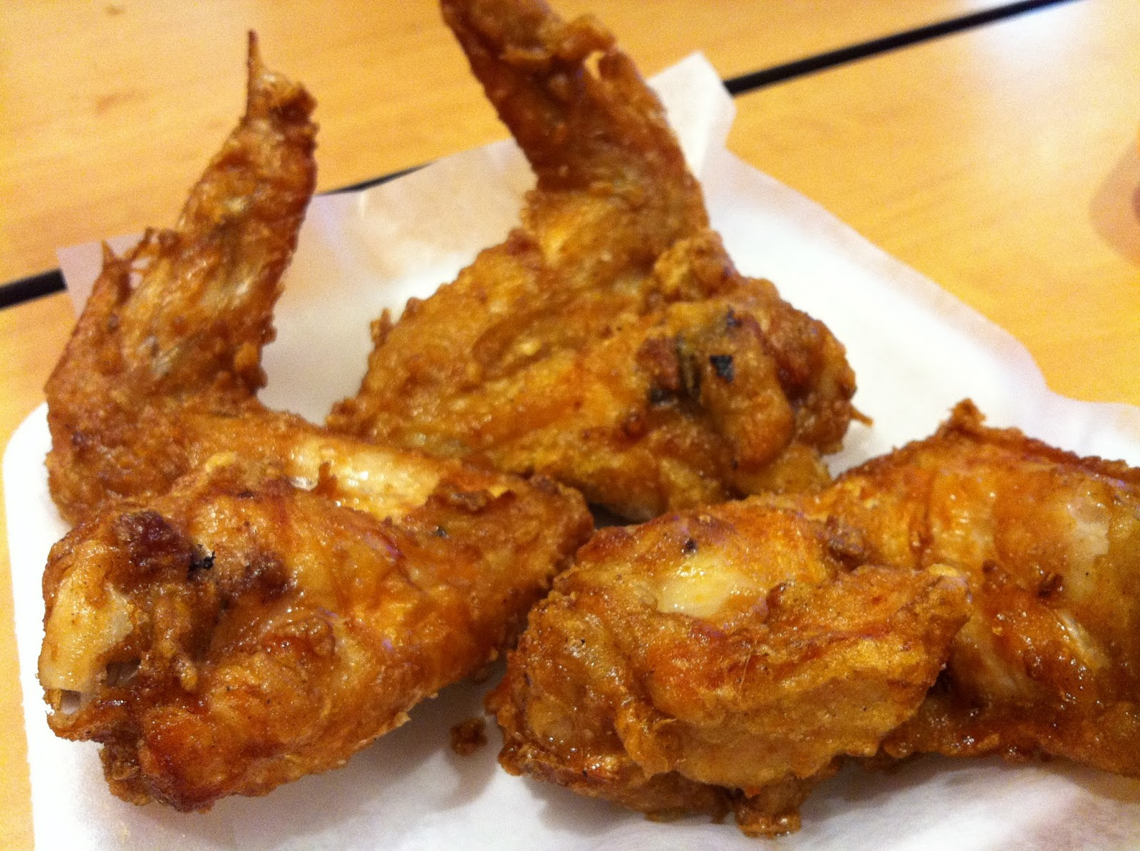 how to make deep fried chicken wings