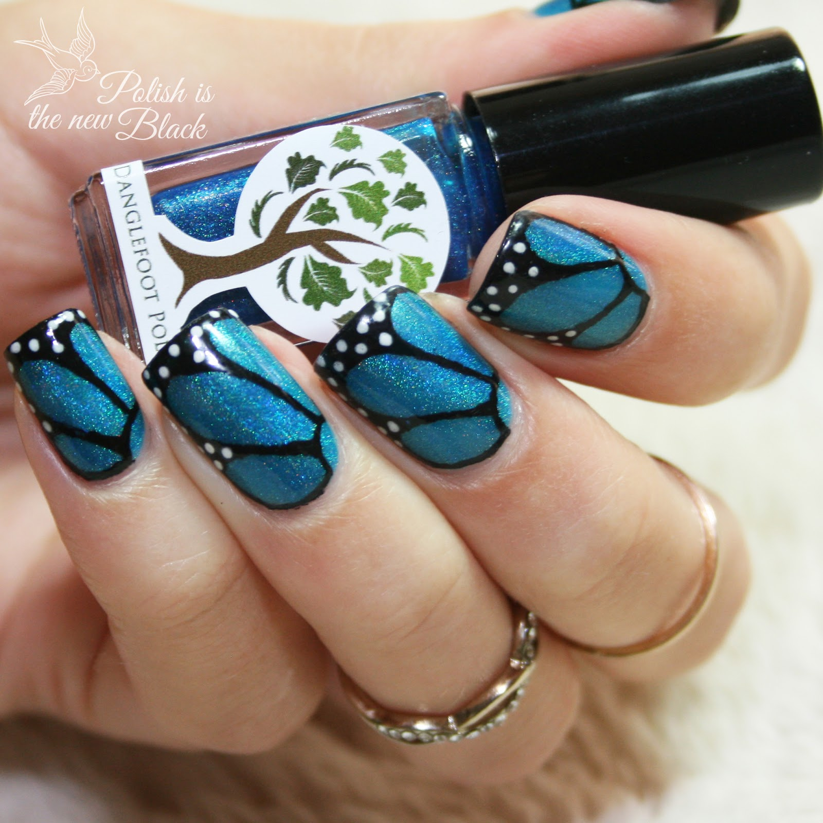Butterfly Nails Polish Is The New Black