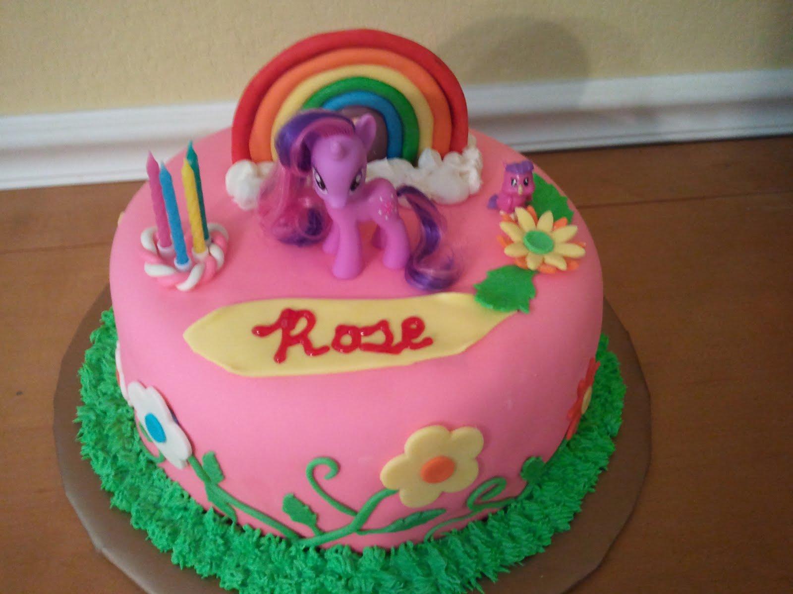 Как сделать торт май литл пони